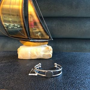 NWT Silver Coin Cuff  Bracelet from INC